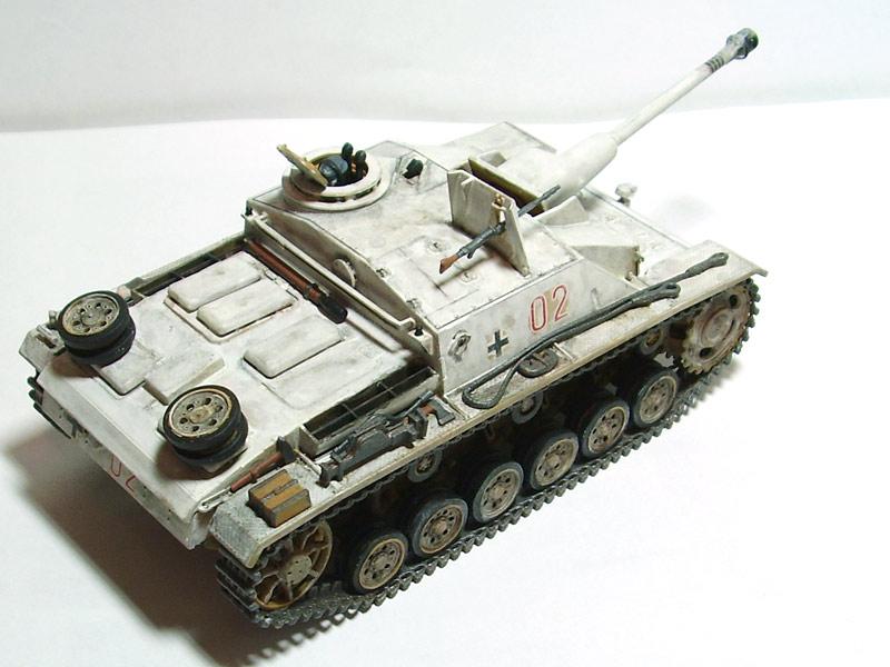 Tamiya 1/48 Sturmgeschutz III Ausf. G