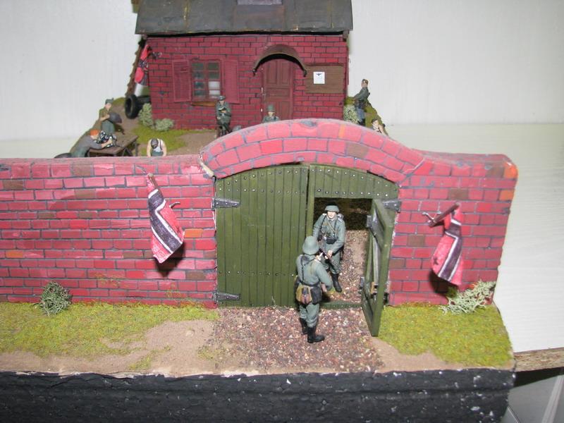 DIORAMA WWII