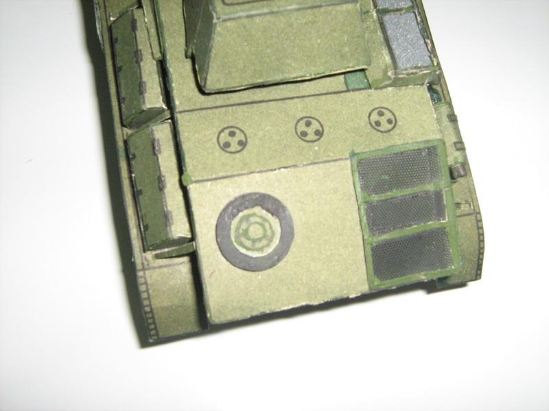 Хорошо строить танки из бумаги, если бы не траки!